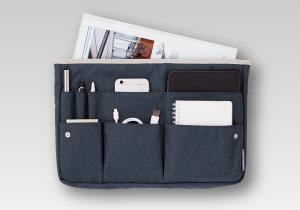 こだわりレザーバッグとセットで使う「ミニタブレット用インナーバッグ」