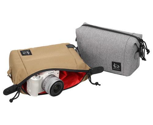 こだわりレザーバッグとセットで使う「カメラ用インナーバッグ」