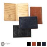 GANZO(ガンゾ) シンブライドル カードケース パスポートケース