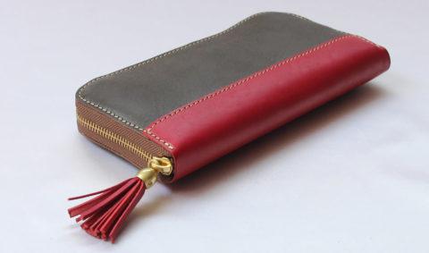 PORCO ROSSO(ポルコロッソ) タッセル 長財布