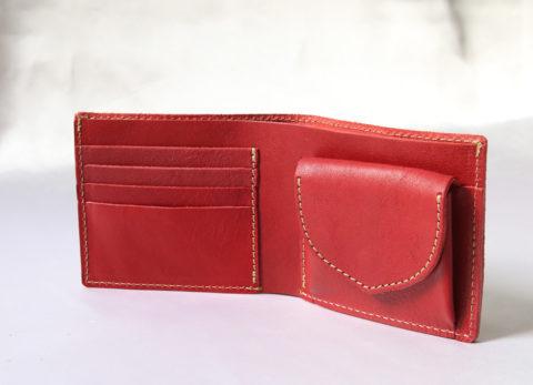 PORCO ROSSO(ポルコロッソ) 本革2つ折り財布