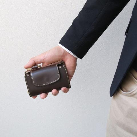 PORCO ROSSO(ポルコロッソ) 小銭入れ付き スマートキーケース