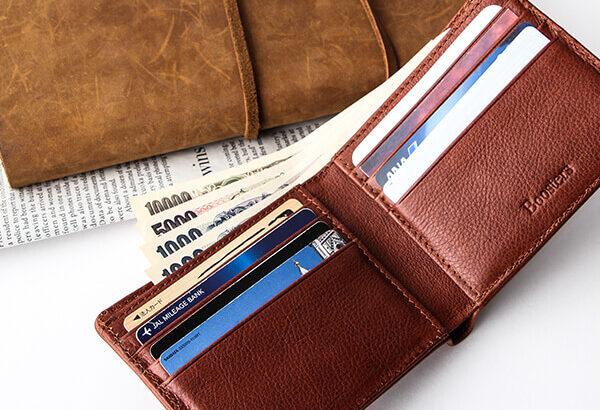 Boosters(ブースターズ)の財布はノートンレザーを使っているのに超低コスト